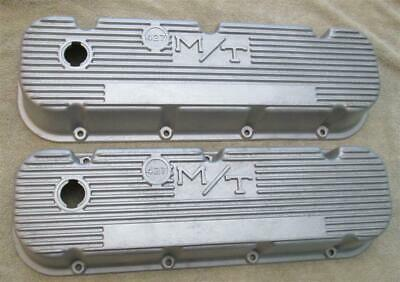 Vintage Mickey Thompson 427 Embossed Valve Covers M/T Big Block Chevy 396 454
