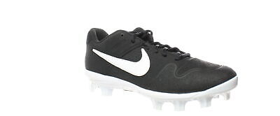 Nike Mens Alpha Huarache Varsity Low Mcs Black Baseball Cleats Size 10.5