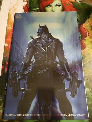 Batman Who Laughs The Grim Knight 1 Silver Foil