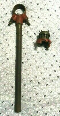 vintage SEARS CRAFTSMAN PIPE THREADER threading tool THREADED PIPE ROD awesome
