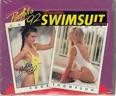 1992 International Swimsuit Trading Card Collection (36 Packs)