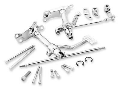 Shift Rod Replacement for Forward Controls Chrome Biker/'s Choice 56286
