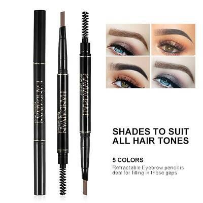 HANDAIYAN Double Head Long Lasting Eyebrow Pencil Waterproof Eyebrow Pen Makeup