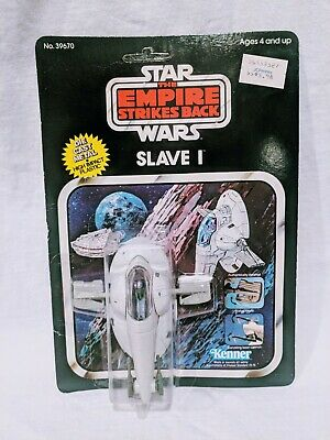 Star Wars Kenner Die Cast Slave I Sealed New 1980 Boba Fett vintage ESB vehicle