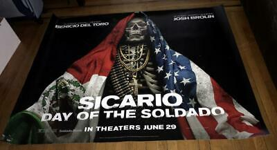 Sicario Day of the Soldado 5FT SUBWAY MOVIE POSTER 2018 JOSH BROLIN SICARIO 2