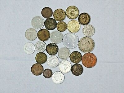 Lot of Foreign Coins Unsearched World Coins