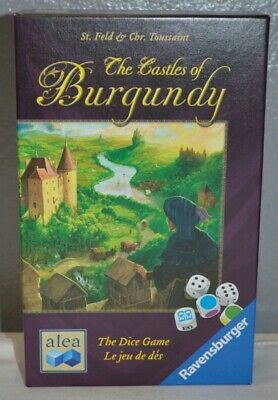 Ravensburger The Castles Of Burgundy The Dice Game New In Shrink Wrap 14 99 Picclick