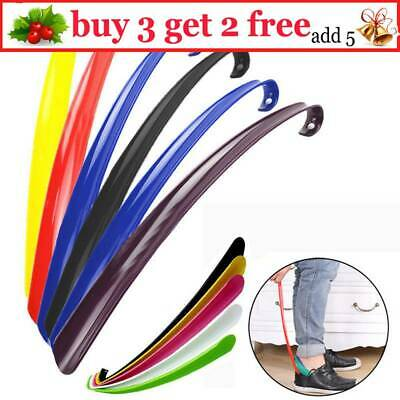 Shoe Horn Extra Long 57cm Plastic Remover Disability Mobility Aid Flexible_Stick