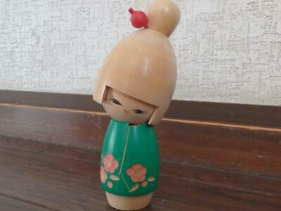 """Vintage KOKESHI Doll by Suigai Sato 15cm(5.9"""") Tall  #0065"""