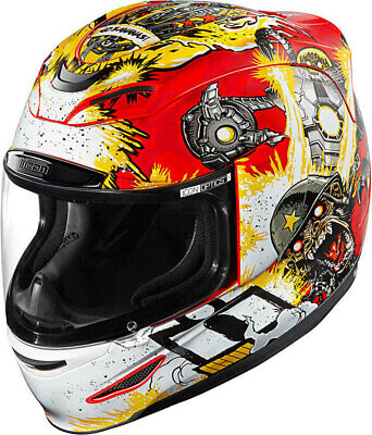 Icon Airmada Monkey Business Racing Helm Motorrad UVP:240,95€