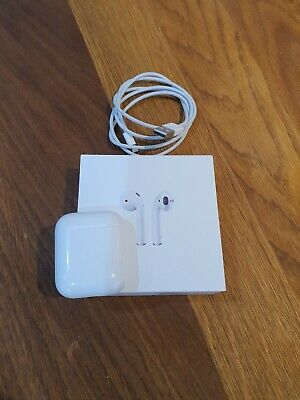 Apple AirPods 2nd Generation with Charging Case - White - 6 months old