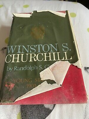 WINSTON S CHURCHILL 1901-14 YOUNG STATESMAN Official Biography [Gilbert] Navy