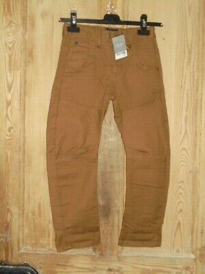 Next Kids Brown Jeans Trousers - Age 7 years NEW