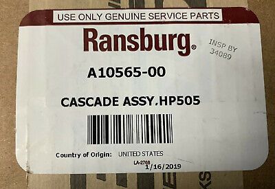 ITW Ransburg A10565-00 Cascade Assembly