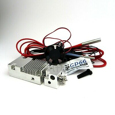 Mix hotend, 2 in 1 out hotend, multicolor, Chimera + Cyclops, z.B. Geeetech A10M