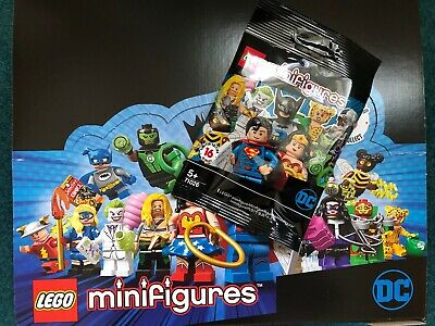 LEGO Minifigures DC Comics Super Heroes 71026 NEW ORIGINAL BAGS & CHECKSHEET