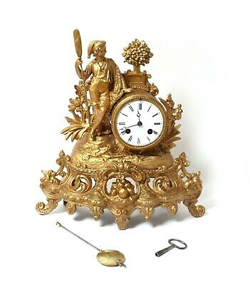 Mantel clock. France, early 20th century.