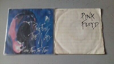 """LOT 2 x 45T 7"""" PINK FLOYD / THE WALL"""