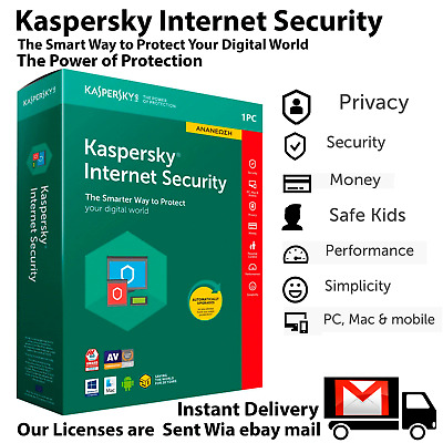 kaspersky internet security 2020 Original 🔑GLOBAL KEY 1key 1 pc 1 year