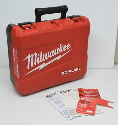 """EMPTY CASE ONLY: Milwaukee 2853-22 M18 Fuel 1/4"""" Impact Driver Kit Box Hard Case"""