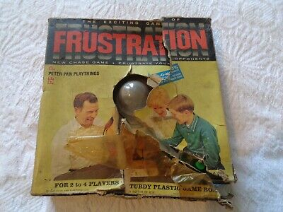 Frustration Vintage Board Game  Peter Pan Playthings