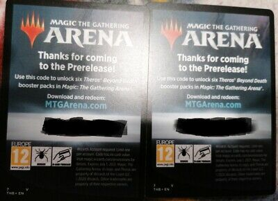 MTG Arena Code / 6 Theros Beyond Death Booster Packs / Magic The Gathering / f2p