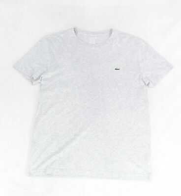 Mens Lacoste Graphic T-Shirt TH3233 Short Sleeve Tee Lacoste Logo New 2017