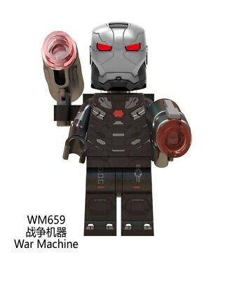 Lego fit mini figures Marvel Avengers War Machine Normal outfit
