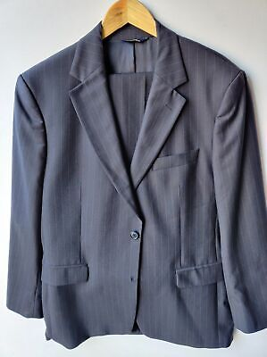 Brooks Brothers Stretch Suit (40R) Gray Pinstripe