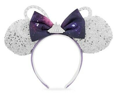 New Disney Park Space Mountain Minnie Collection Mickey Ears In Hand