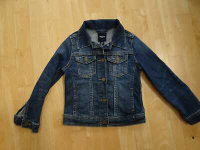 GAP KIDS girls blue denim jeans jacket coat AGE 4 - 5 YEARS EXCELLENT COND
