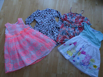 PRIMARK GEORGE MATALAN girls 4 PACK dresses summer clothes bundle AGE 6 YEARS