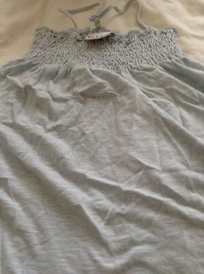 girls pale blue summer top from next age 6 yrs 116 cms