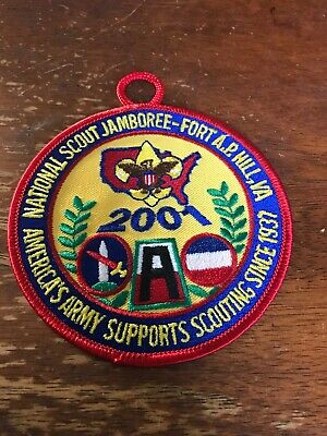 Get Out the Vote Boy Scouting Supports the Nation Patch  2010   eb08