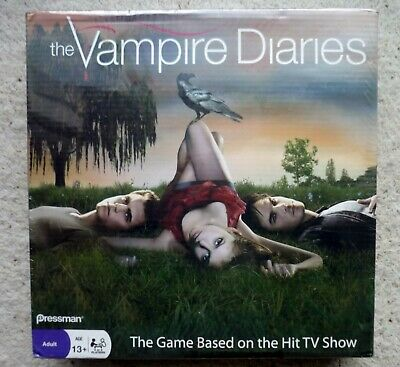 ***** Rare THE VAMPIRE DIARIES Board Game - New & Sealed