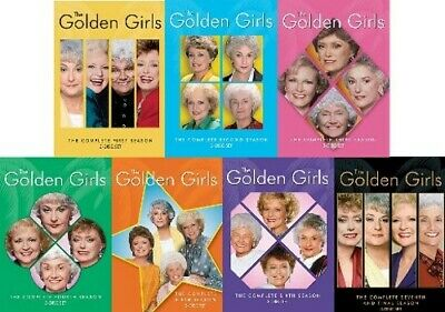 GOLDEN GIRLS THE COMPLETE TV SERIES SEASONS 1 - 7 New DVD Season 1 2 3 4 5 6 7