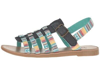 NIB NEW TOMS Girls Huarache SANDALS Shoes Youth SIZE 3 Stripe $40 CUTE!