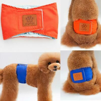 Soft Absorbent Washable Dog Diapers Breathable Female Dog Panties EH7E