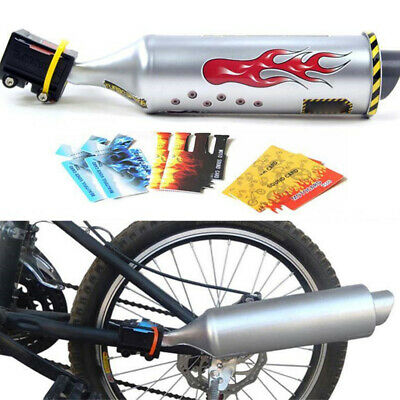Turbospoke High Performance Pedal Powered Megaphone Bicycle Exhaust Pipe NEW