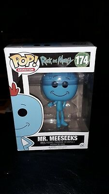 Pop Funko Vinyl Figure Animation Rick And Morty Mr Meeseeks New Rare