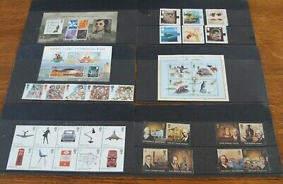 Assortment of Mint Royal Mail FDI UK Commerative Stamps and miniature sheets