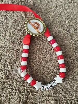 Fabulous **Curious George** Personalised Dummy Clip, Any Name!