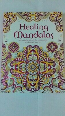 Healing Mandalas Adult Colouring Book A4 Size Brand New
