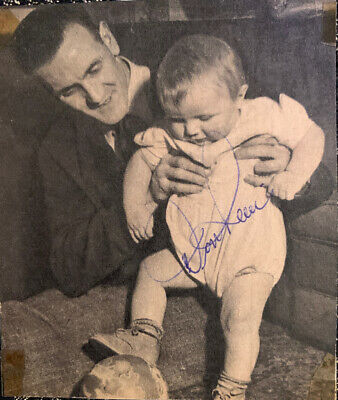 Signed Don Revie Leeds United FC Manchester City FC England Football Autograph