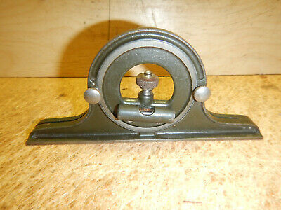 Older Lufkin Protractor Head For Combination Square Rule Machinist Tool