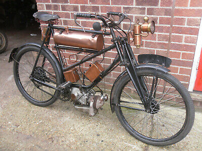 Norman Villiers 98Cc Classic Motobyk 1946 Hand Crafted Special One Off With V5