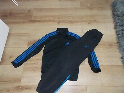 Boys Adidas Tracksuit Top Joggers Age 11-12 Years