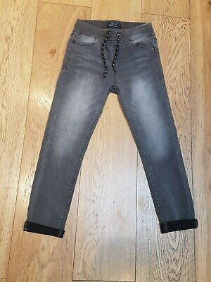 Boys NEXT Grey Jeans 'Carrot Style' 8 Years EX CONDITION