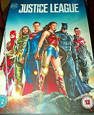 Justice League (DVD, 2018)Ben Affleck/Henry Cavill