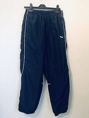 Fila Navy Blue Tracksuit Bottoms Size MB (Medium Boys - Approx 11/12 Years)